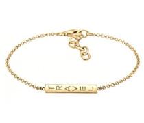 Damen-Armband Schriftzug Travel 925 Silber 16 cm - 0204361117_16