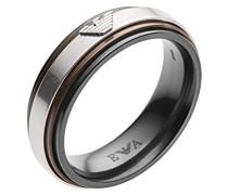 Herren-Ringe Edelstahl mit - Ringgröße 62 (19.7) EGS2469040-10