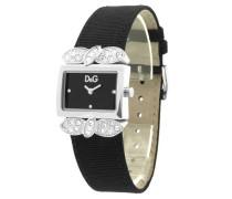 D&G Dolce&Gabbana Damen-Armbanduhr Analog Quarz Leder DW0493