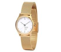 Mondaine Damen-Armbanduhr HELVETICA NO1 LIGHT HOLIDAY ED. Analog Quarz Edelstahl MH1.L1111.SM
