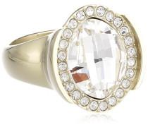 Damen-Ring Vergoldetes Metall Kristall Swarovski 336340