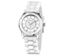 Damen-Armbanduhr XS Analog Quarz Silikon