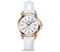 Damen-Armbanduhr XS Analog Quarz Leder C004.210.36.116.00