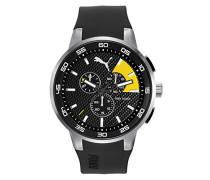 Herren Armbanduhr Chronograph Quarz Plastik PU104161003