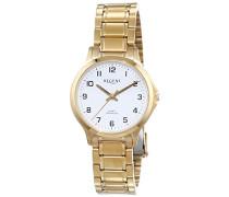 Damen-Armbanduhr XS Analog Quarz Edelstahl beschichtet 12210934