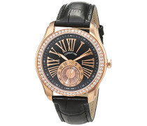 Cerruti Damen-Armbanduhr Analog Quarz Leder CT100302X03