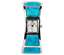 Damen-Armbanduhr Analog blau 2907L-TQ