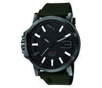 Puma Herren-Armbanduhr Ultrasize 50 Analog Quarz Silikon PU103911002