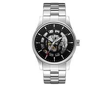 Caravelle New York Herren-Armbanduhr Analog Automatik Edelstahl 43A124