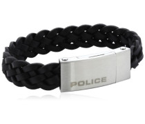 POLICE Herren-Armband Edelstahl INDY II PJ25152BLB-01-S