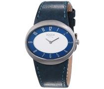 Damen-Armbanduhr Mit Lederarmband Trend 3165-03
