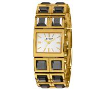 Damen-Armbanduhr Beverly Hills Analog Quarz Edelstahl J43608-712