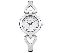 –M1175SM Damen-Armbanduhr 045J699Analog grau–Armband Metall grau
