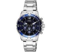 Invicta Herren - 16286-Armbanduhr Chronograph Edelstahl Silber