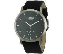 Herren-Armbanduhr Mit Lederarmband Trend 3540-02