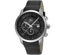 Herren-Armbanduhr Pantin Chronograph Quarz Leder PC106351S01