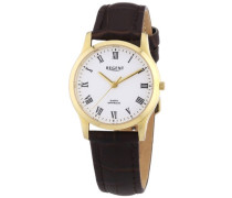 Damen-Armbanduhr XS Analog Quarz Leder 12100562