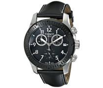 Tissot Herren-Armbanduhr Chronograph Quarz Leder T039.417.26.057.00