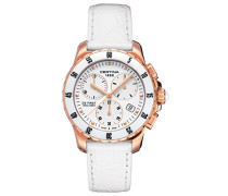 Certina Damen-Armbanduhr XS Chronograph Quarz Leder C014.217.36.011.00