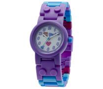 LEGO Unisex-Armbanduhr Friends Olivia Analog Quarz Plastik 8020165