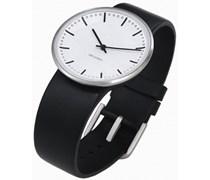 Rosendahl Unisex-Armbanduhr Analog Edelstahl weiss 43441