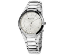 Orphelia Herren-Armbanduhr XL Analog Quarz Edelstahl