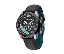 Sector Herren-Armbanduhr Analog Quarz Leder R3251575009