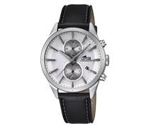 Herren-Armbanduhr Analog Quarz Leder 18313/1