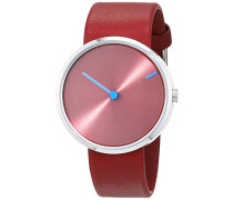 Herren-Armbanduhr Analog Quarz Leder 32255