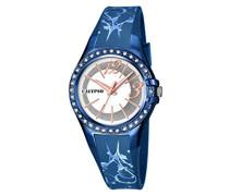 Damen-Armbanduhr Analog Plastik Blau K5624/D