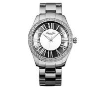 Damen-Armbanduhr XS Transparency Analog Edelstahl KC4851
