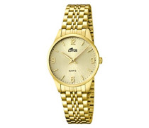 Damen-Armbanduhr XS Analog Quarz Edelstahl 15886/3