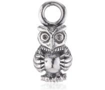 Heartbreaker Damen- Ohring Einhänger Owl Einhänger für Creolen 925 Silber LD MR 39- B
