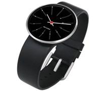 Rosendahl Unisex-Armbanduhr Analog Edelstahl schwarz 43456