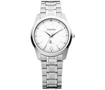 Herren-Armbanduhr XL Analog Edelstahl 155-7701-18