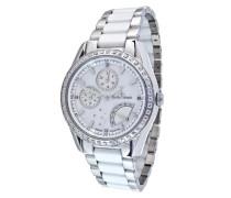 Damen-Armbanduhr Analog Quarz Premium Keramik Diamanten - STM11-TC020G-B