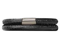 Damen-Armband JLo Reptil 2-reihig Edelstahl Leder 38.0 cm - 1003-38