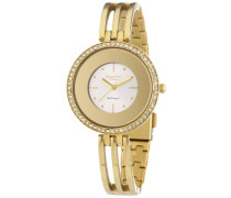 Regent Damen-Armbanduhr XS Analog Quarz Edelstahl beschichtet 12210889
