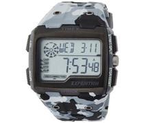 TW4B03000 Herren-Armbanduhr mit Quarz-Uhrwerk, Digitalanzeige und Resin-Uhrenband.
