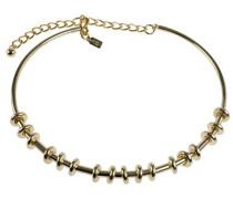 Gold Farbige mit Gold Bars Choker von 40cm