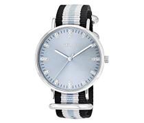 Noelani Damen-Armbanduhr Textil Streifen Swarovski Elements Analog Quarz 566223