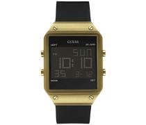 Guess Herren-Armbanduhr Digital Quarz Kautschuk W0595G3