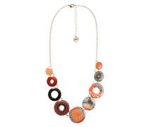 Desigual Damen-Collier Collar Circulos Lluka Versilbert 40 cm - 67G55D13074U