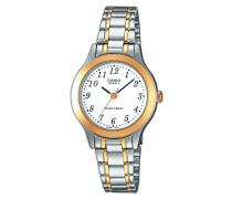 –ltp-1263pg-7bef–Collection Damen-Armbanduhr 045J699Analog weiß Armband Stahl Silber