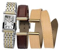 Damen-Armbanduhr Analog Quarz Edelstahl COF17048/BT01MB
