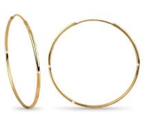 Damen-Ohrringe Silber vergoldet 0305892511