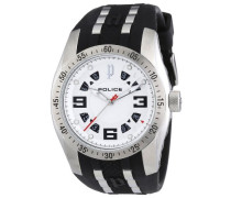 POLICE Herren-Armbanduhr XL TOPGEAR X Analog Quarz Kautschuk P12892JVS-04