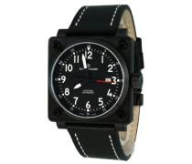 Herren-Armbanduhr XL Analog Automatik Leder 16576.2577