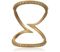 Damen-Ring Herbst Vergoldet teilvergoldet