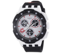 Herren-Armbanduhr Analog Leder SUKW100
